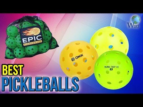 8 Best Pickleballs 2017
