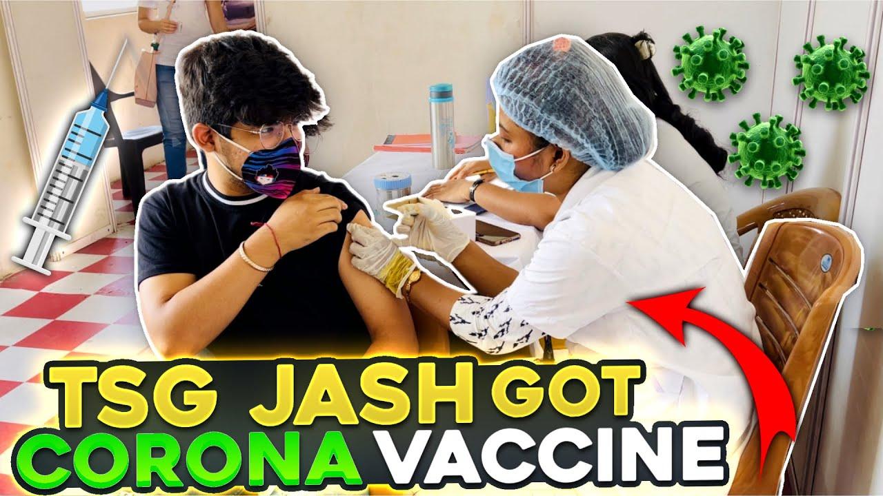 TSG Jash Got Corona Free 💉 Vaccine || Special Message For TSG Army