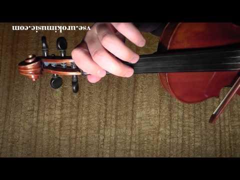 Как играть на скрипке - Призрак оперы - ноты для скрипки zan urokimusic com