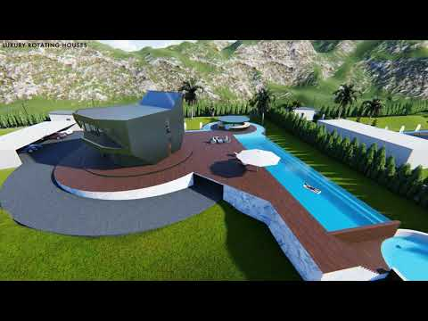 UNIQUE IN EUROPE  :  ROTATING HOUSES DEVELOPMENT FOR SALE IN BODRUM (TURKEY)