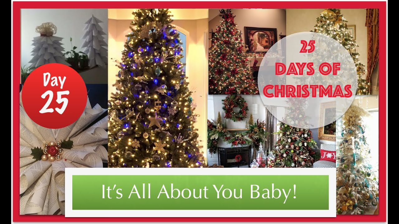 25th day of christmas 2015 all about you youtube - All About Christmas