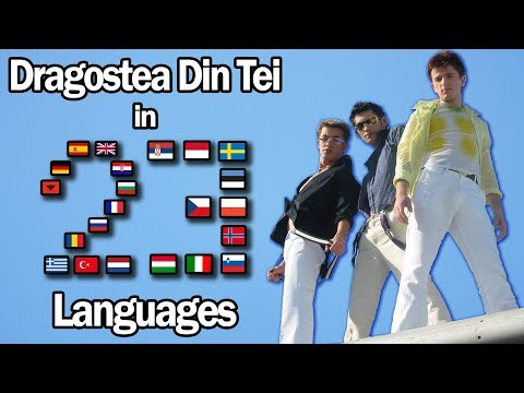 Singing Dragostea Din Tei In 23 Languages With Zero Singing Skills