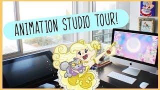 MINI ANIMATION STUDIO TOUR!