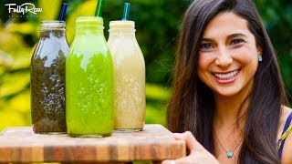 3 Easy & Delicious Fullyraw Smoothie Recipes!