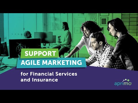 Agile Marketing for Financial Services and Insurance | Aprimo
