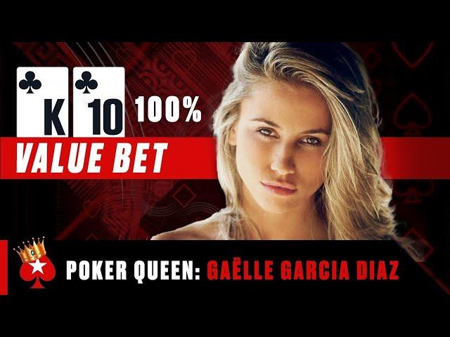 Gaëlle Garcia Diaz 🥰 Best Poker Hands ♠️ Poker Queens ♠️ PokerStars