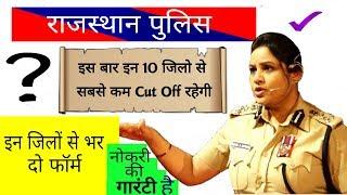 Rajasthan Police || फॉर्म कहाँ से भरे..? || Cut Off || रणनीति| || Notification #BoranSir
