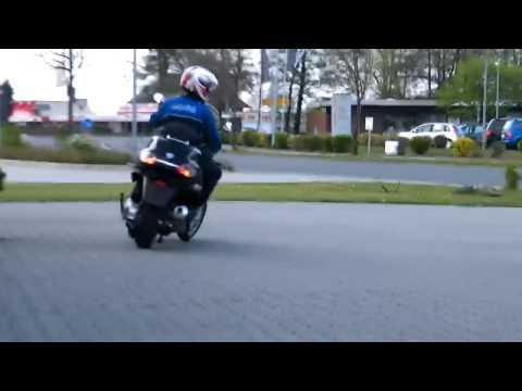 HC Probefahrt Piaggio MP3 400 LT 2010 Roller schwarz 98/A