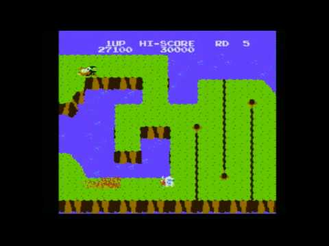 CGRundertow - DIG DUG II for NES Video Game Review