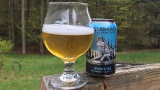 Alaskan Brewing Co.- Husky IPA(Beer Review)