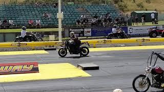 XSR900 DRAG RACING