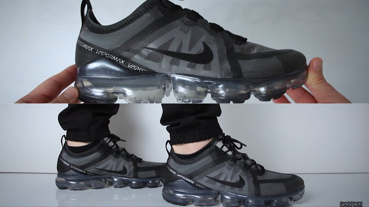d138338b0b Nike Air Vapormax 2019 (review) - UNBOXING & ON FEET - YouTube