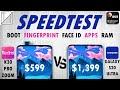Redmi K30 Pro Zoom Edition vs Galaxy S20 Ultra Speed Test