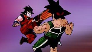 Goku vs Bardock