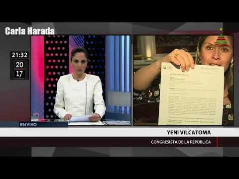 """Yeni Vilcatoma: """"Pedro Pablo Kuczynski esta sentado en el sillón presidencial gracias a Odebrecht"""""""