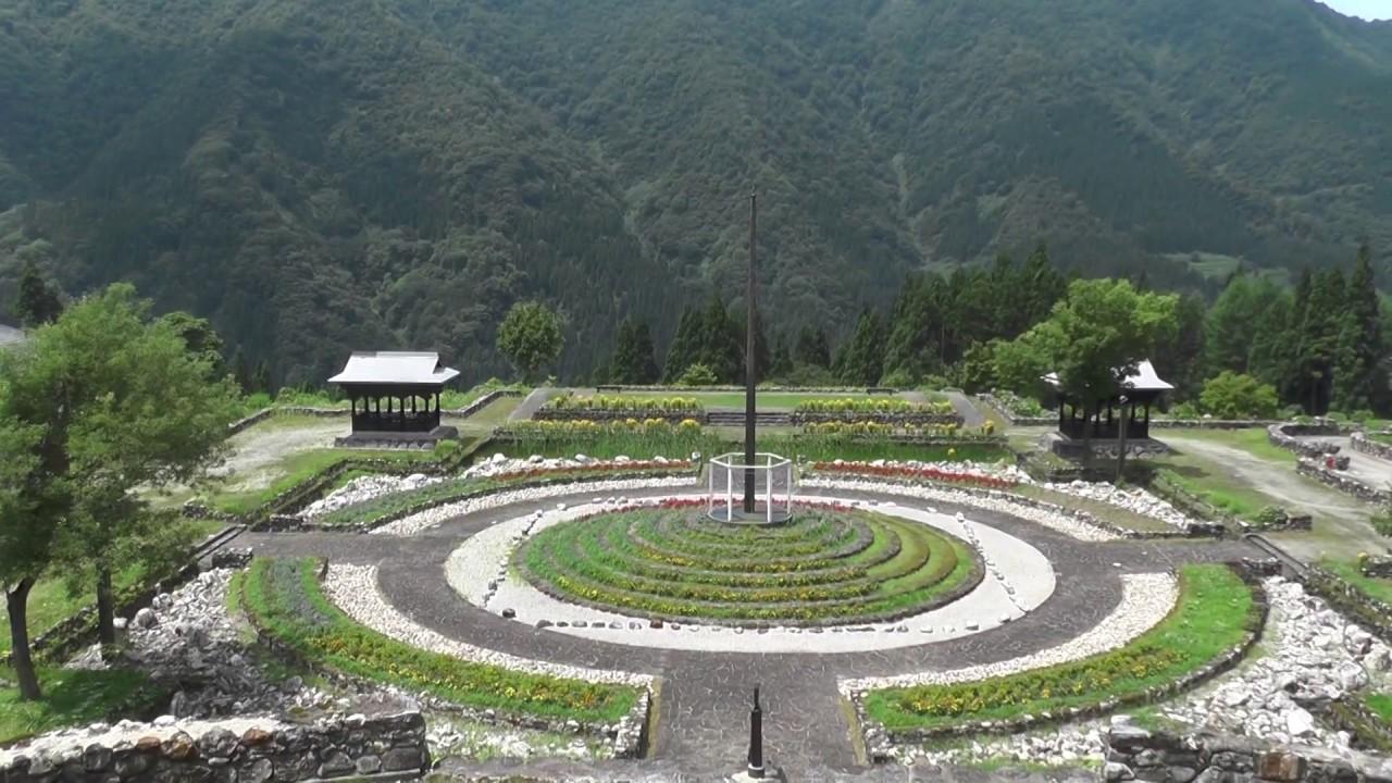 五箇山道の駅たいら➡(新山の神...