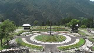五箇山道の駅たいら➡(新山の神トンネル〉➡利賀村瞑想の郷へ(4倍速)