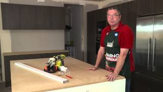 How To Prepare Cabinetry For Stone Benchtop Installation - Diy At Bunnings