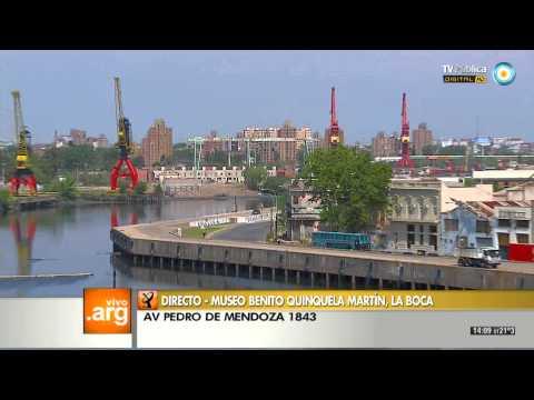 Vivo en Arg - Museo Benito Quinquela Martín 23-10-13 (1 de 4)