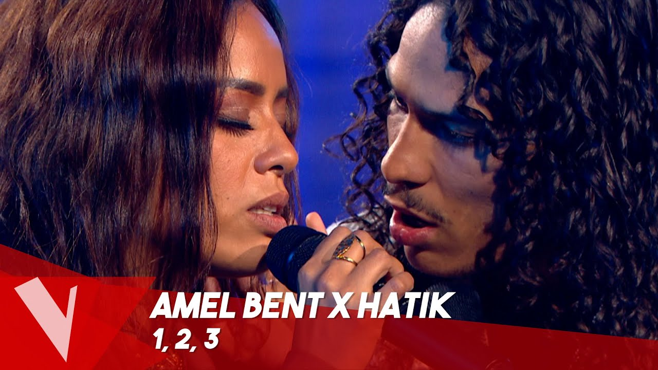 Amel Bent x Hatik – '1, 2, 3' | Lives | The Voice Belgique Saison 9
