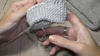 Тунисское вязание двухсторонним крючком.