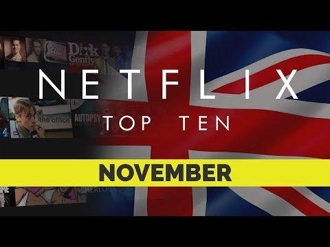 Top Ten movies on Netflix Uk for November 2017