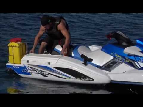 Changing The World Of Fishing With The New KOMMANDER FX FISHING EDITION JETSKI