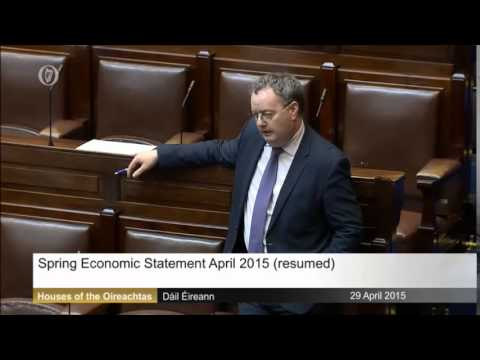 Michael Moynihan TD on the Spring economic statement