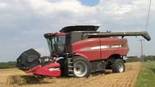 Krastel Farms Cutting Wheat in Maryland Video #2