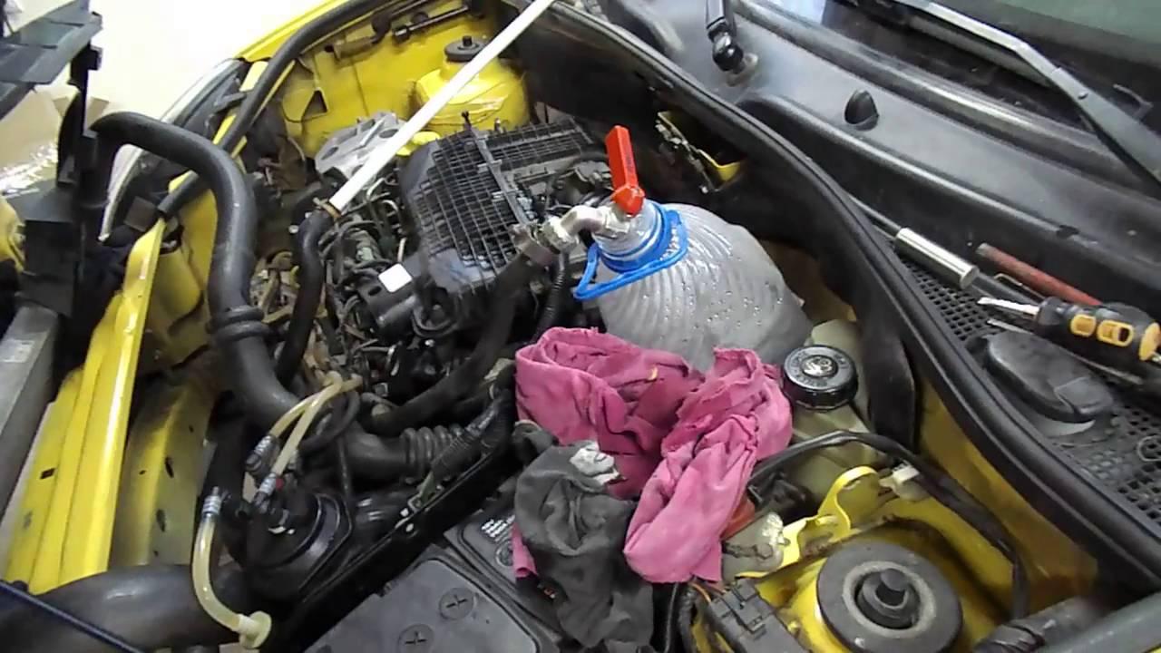 renault kangoo антифриз попал в двигатель