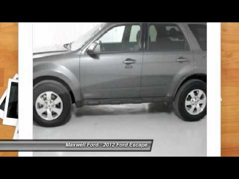 2012 Ford Escape FWD 4dr Limited at Maxwell Ford in Austin CKA10818