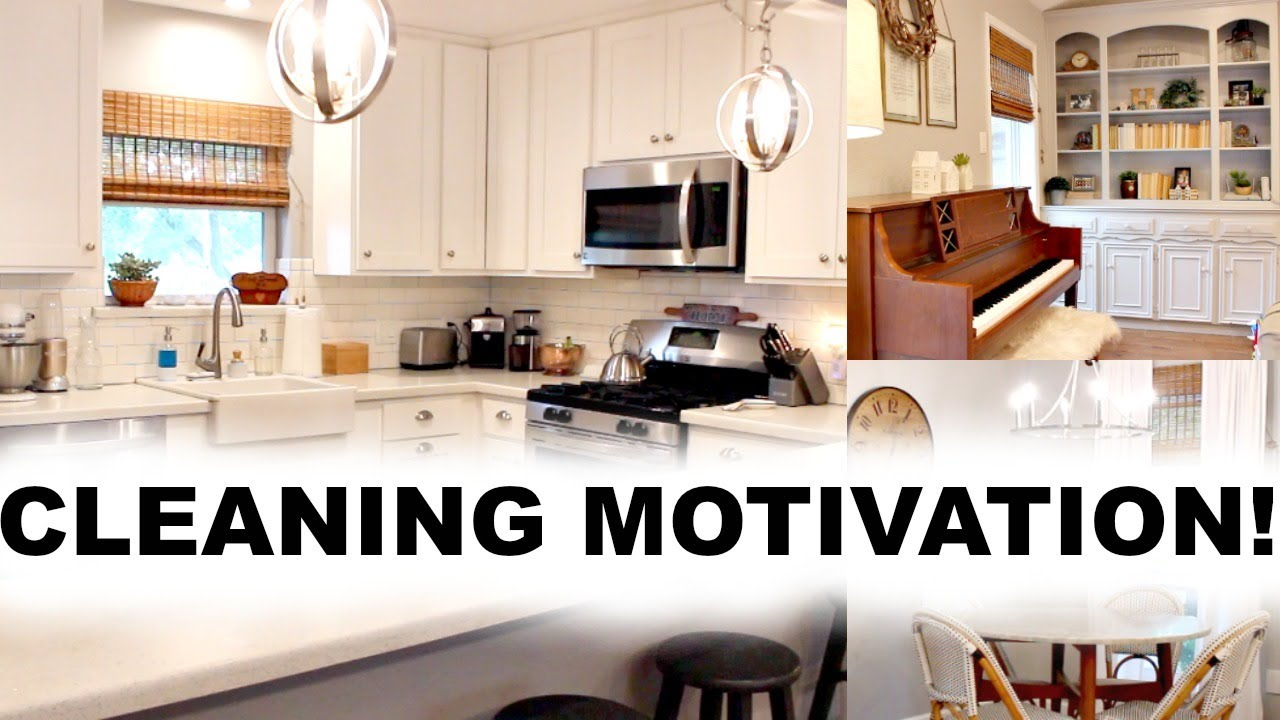 Cleaning Motivation Weekend Cleaning Routine Clean With Me 2019