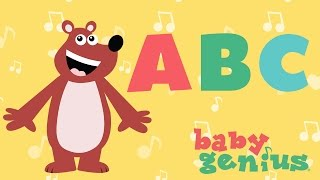 The ABC Song | Nursery Rhyme Cartoons for Kids | Baby Genius