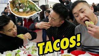TACOS BY THE BORDER! (Tacos El Gordo) - Fung Bros Food thumbnail