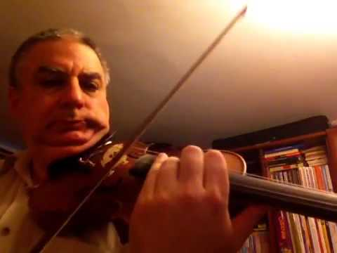 Урок по скрипке номер 2