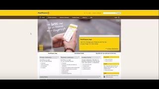 Plateforme de test PostFinance : Partie 1 S'enregistrer