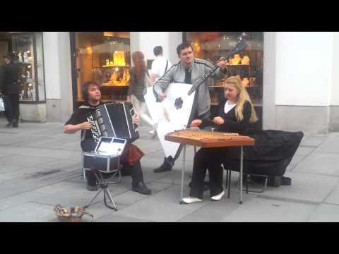 Graben, Wien, russische Musiker