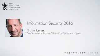 State of Cyber & Information Security in 2016