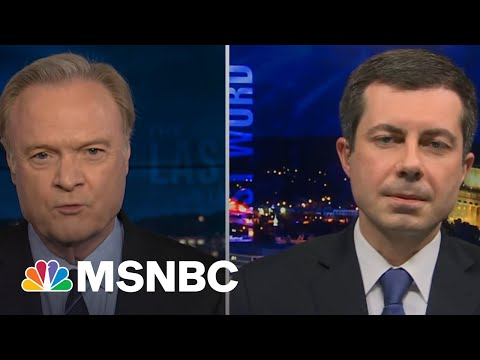 Buttigieg Responds To Ocasio-Cortez Calling For More Infrastructure Funding | The Last Word | MSNBC
