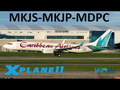 X-Plane 11 | 787 Aviators Edition!! | B737 B789 | VATSIM | Montego Bay,  Kingston & Punta Cana!!