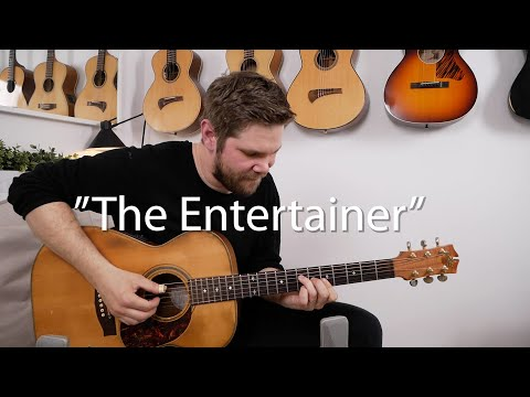 """Emil Ernebro Plays """"The Entertainer"""""""