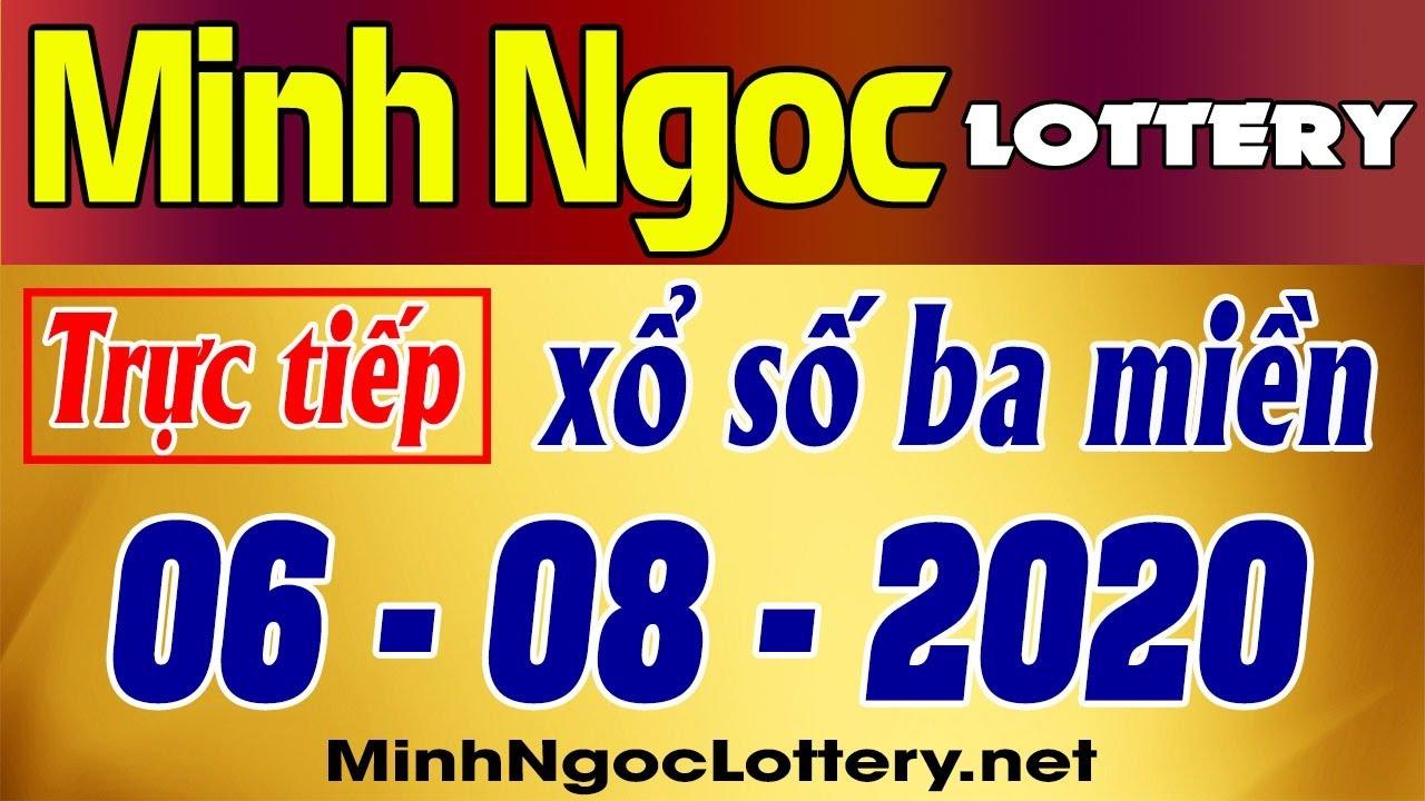 Minh Ngoc Lottery - Trực tiếp xổ số 3 miền xsmb, xsmn thứ 5 06/08/2020