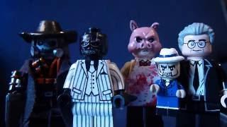 Custom Lego Batman Villain Minifigures Part 3 (Black Mask, Scarface, Professor Pyg, and Scarecrow)