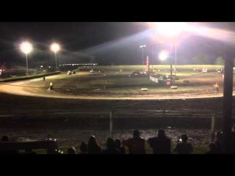 Creek County Speedway Oklahoma Champ Sprint A Feature 5-22-15