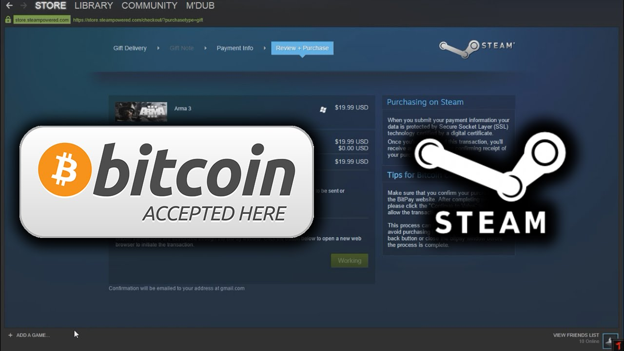 How To Buy Steam Games With Bitcoin 2016