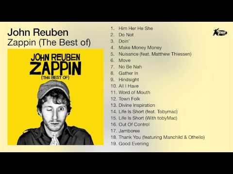 John Reuben - Zappin (The Best Of) [Full Album Audio]