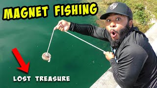 MAGNET FISHING with Monster Mike - Urban Treasure Hunting