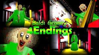 Baldi Granny【MOD】4Endings ~4つ全てのエンディング~ thumbnail