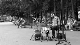 DSCF6523 Уличные музыканты Новосибирска 11.07.2017.