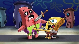 Minecraft Spongebob - I KILLED PSYCHO PATRICK!